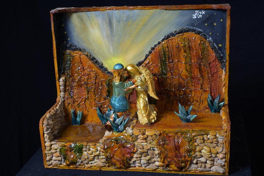 מאבק יעקב עם המלאך