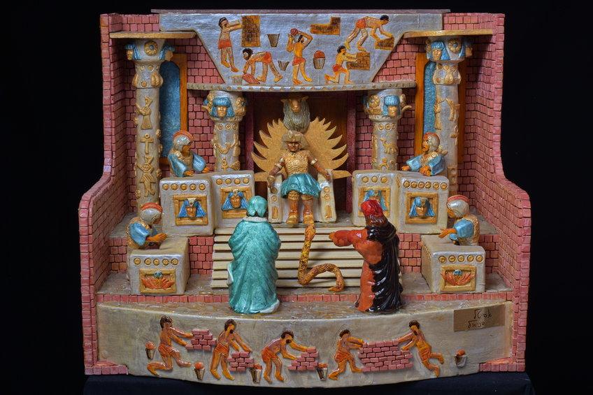 משה ואהרן לפני פרעה