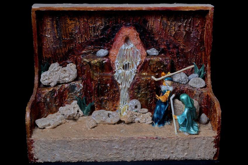 משה מכה בסלע
